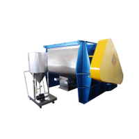 WZ Series Zero-gravity Double-axle Paddle Type Mixer